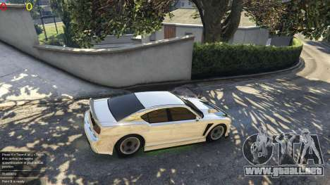 GTA 5 Gang wars 0.2 segunda captura de pantalla