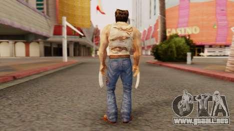 Wolverine v2 para GTA San Andreas tercera pantalla