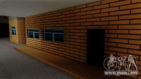 Nuevas texturas de el antiguo garaje de Doherty para GTA San Andreas sucesivamente de pantalla
