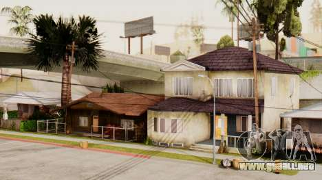 HD Grove Street para GTA San Andreas sucesivamente de pantalla