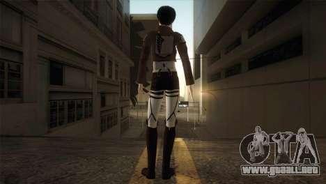 Eren Jaeger para GTA San Andreas tercera pantalla