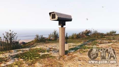 El radar de la policía v1.1 para GTA 5