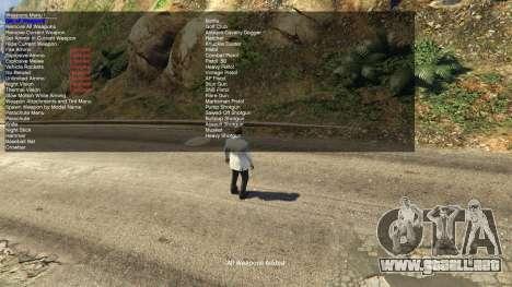 GTA 5 Simple Trainer 2.1 quinta captura de pantalla