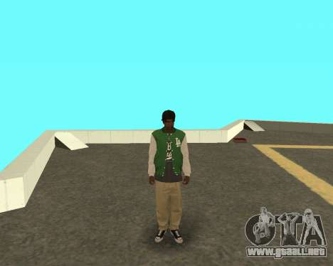 El nuevo chico en el bloque de grove Street para GTA San Andreas
