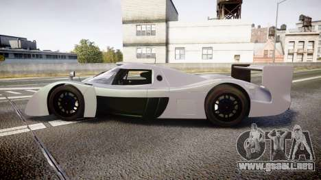 Toyota GT-One TS020 black spoiler para GTA 4 left