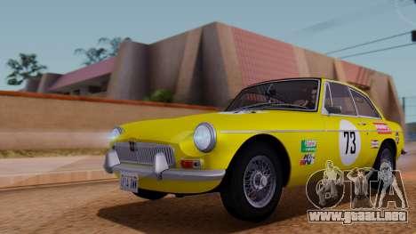 MGB GT (ADO23) 1965 FIV АПП para el motor de GTA San Andreas