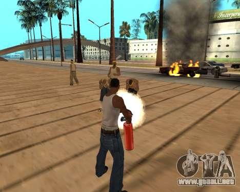 HQ Effects and Sun Final Version para GTA San Andreas sexta pantalla