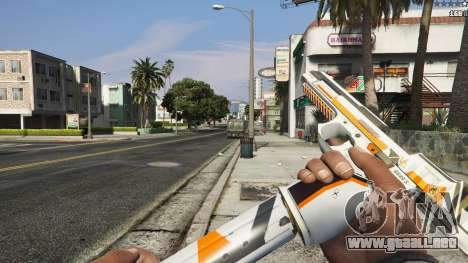 GTA 5 Asiimov Pistol.50 séptima captura de pantalla