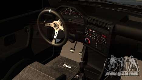 BMW M3 E30 Cabrio para la visión correcta GTA San Andreas