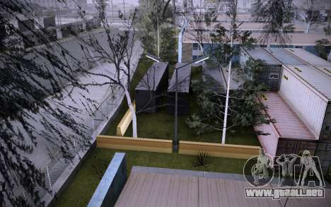 Edificio en la Calle Grove v0.1 Beta para GTA San Andreas novena de pantalla