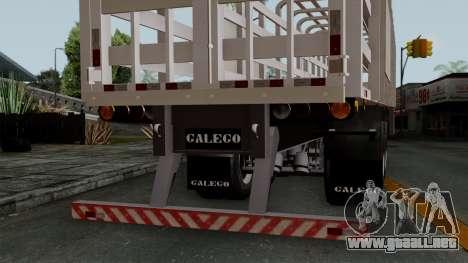 Trailer Rejas Gas para la visión correcta GTA San Andreas
