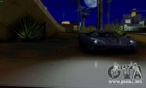 Inul ENB para GTA San Andreas quinta pantalla