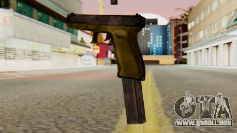 Glock 17 SA Style para GTA San Andreas segunda pantalla
