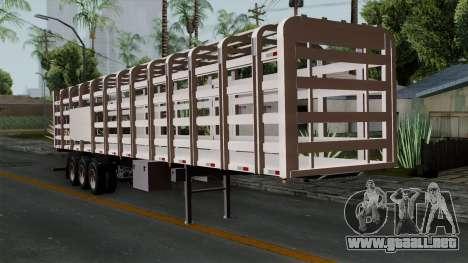 Trailer Rejas Gas para GTA San Andreas