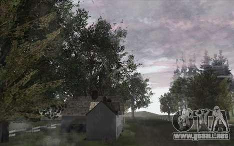 Los árboles de WarFace para GTA San Andreas