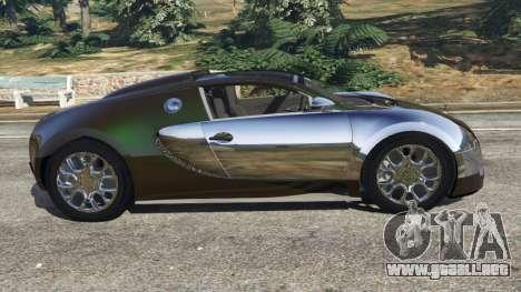 GTA 5 Bugatti Veyron Grand Sport v3.0 vista lateral izquierda
