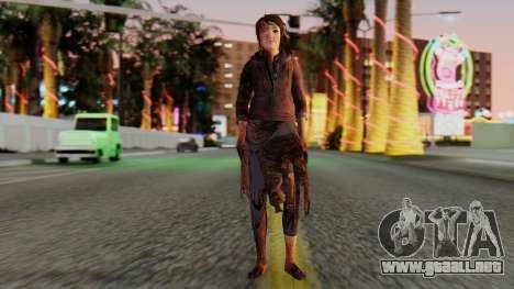 Born Child Girl para GTA San Andreas segunda pantalla