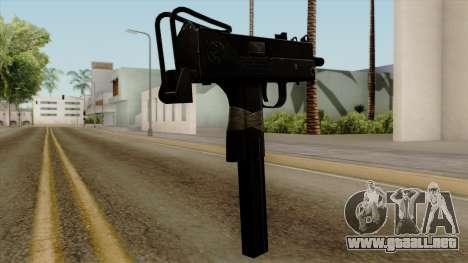 Original HD Micro SMG para GTA San Andreas segunda pantalla
