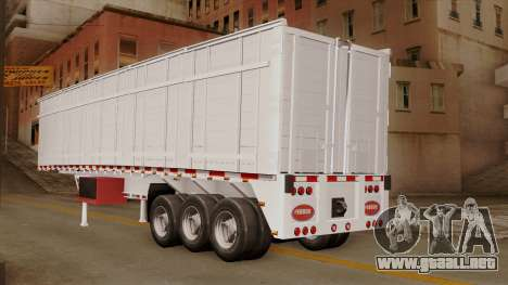 Opentop Trailer para GTA San Andreas left