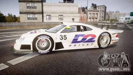 Mercedes-Benz CLK LM 1998 para GTA 4 left