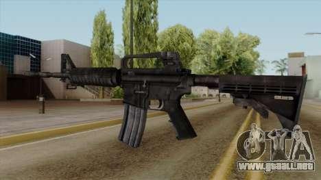 Original HD M4 para GTA San Andreas segunda pantalla
