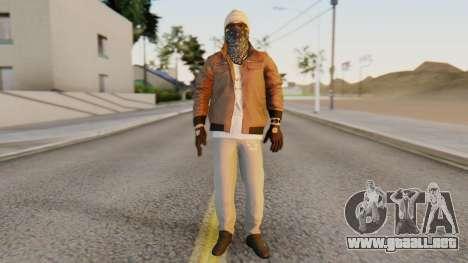 [BF Hardline] Gang Enforcer para GTA San Andreas segunda pantalla