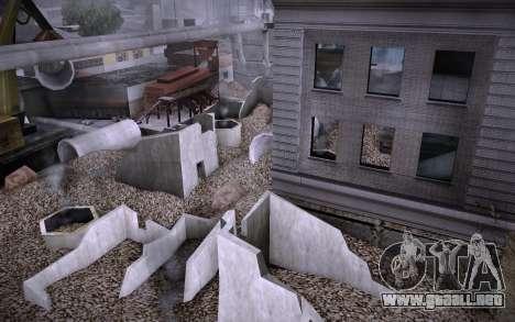 Edificio en la Calle Grove v0.1 Beta para GTA San Andreas séptima pantalla