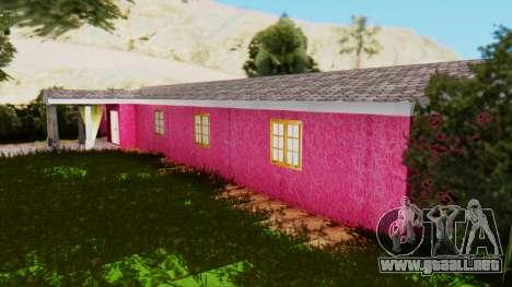 Nuevas texturas de el club en Las Venturas para GTA San Andreas sucesivamente de pantalla