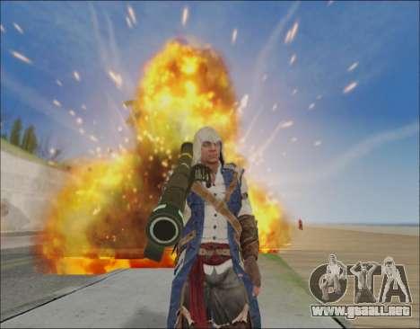Flash ENB para GTA San Andreas segunda pantalla