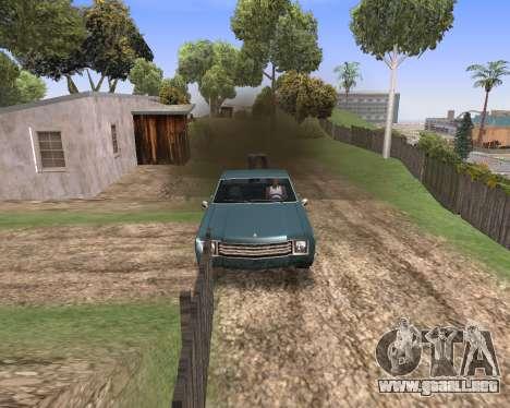 Blood Effects para GTA San Andreas segunda pantalla