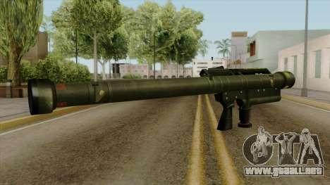 Original HD Heatseek para GTA San Andreas segunda pantalla