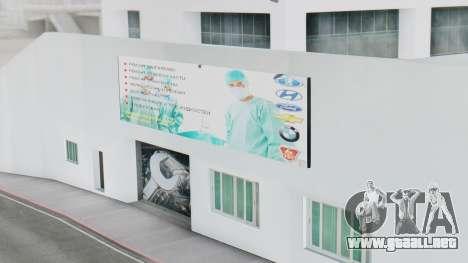 El Concesionario MAGR-Auto para GTA San Andreas sucesivamente de pantalla
