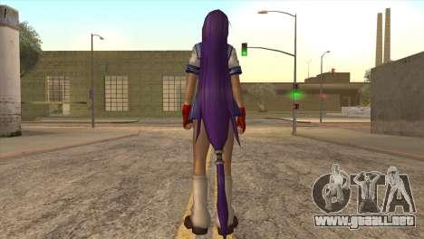 Ikkanu para GTA San Andreas tercera pantalla