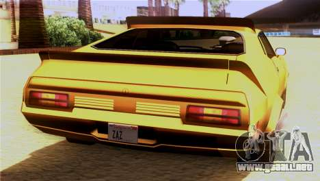 Ford Falcon XB Interceptor Mad Max para GTA San Andreas left
