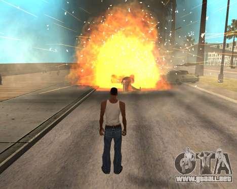 HQ Effects and Sun Final Version para GTA San Andreas quinta pantalla