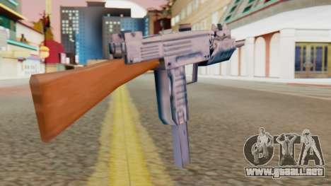 IMI Uzi v2 SA Style para GTA San Andreas segunda pantalla