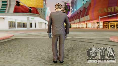 [PayDay2] Hoxton para GTA San Andreas tercera pantalla