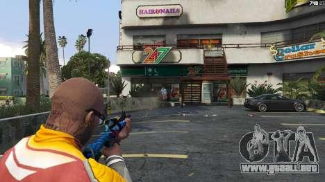 GTA 5 Hyper Beast Edition: M4A1-S tercera captura de pantalla