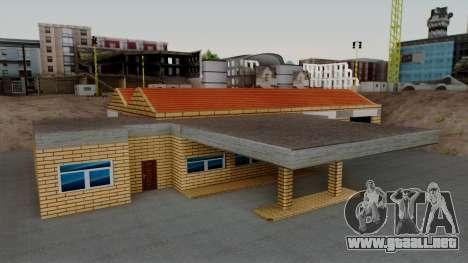 Nuevas texturas de el antiguo garaje de Doherty para GTA San Andreas segunda pantalla