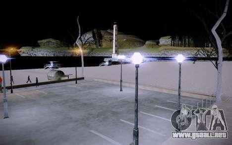 New Santa Maria Beach para GTA San Andreas octavo de pantalla