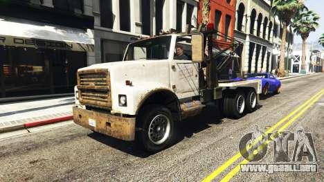 GTA 5 Llamar a un camión de remolque v1.3