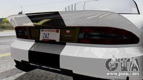 GTA 5 Banshee para visión interna GTA San Andreas