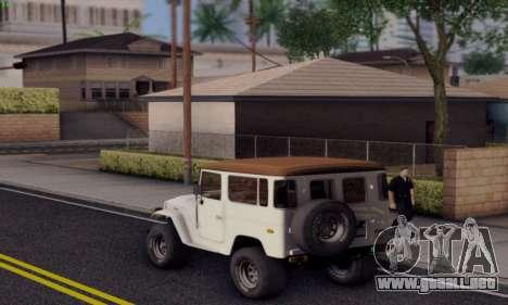 Inul ENB para GTA San Andreas tercera pantalla