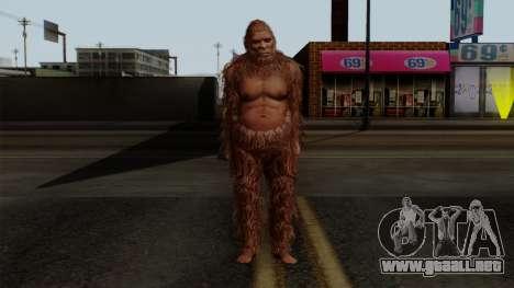 GTA 5 Bigfoot para GTA San Andreas segunda pantalla