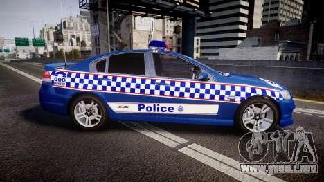 Holden VE Commodore SS Highway Patrol [ELS] v2.0 para GTA 4 left