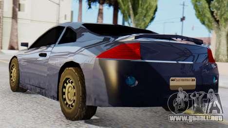Mitsubishi Eclipse GSX SA Style para GTA San Andreas left