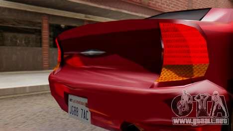 GTA 3 Kuruma SA Style para la visión correcta GTA San Andreas