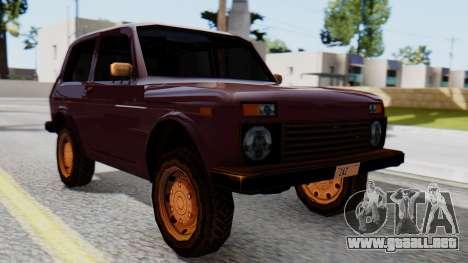 Los floreros 2121 niva SA Style para GTA San Andreas