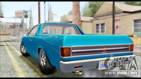 GTA 5 Cheval Picador IVF para GTA San Andreas left