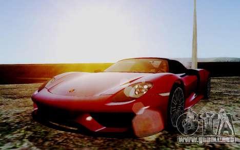 ENB Series HQ Graphics v2 para GTA San Andreas tercera pantalla